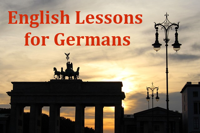 English Lessons for Germans