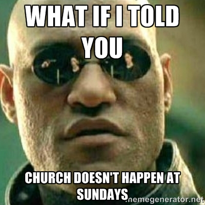 en]No Church at Sundays[:de]No Church At Sundays[:] • English With Nick